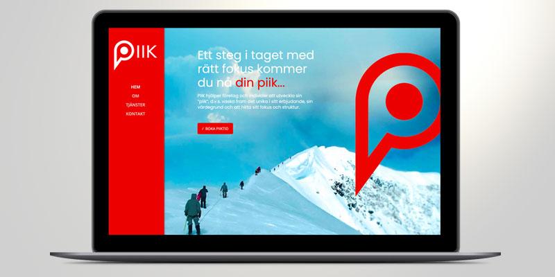 Ny webb till Pii kommunikation
